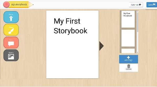 موقع رائع لطفلك كي ينشئ قصه وينشرها