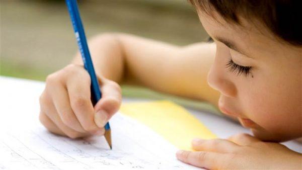 تعلم كتابة التعبير للاطفال