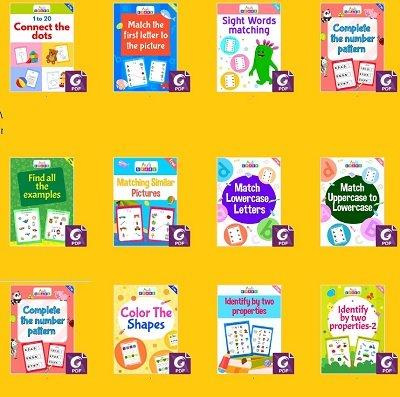 تعليم الألوان الأساسية للاطفال