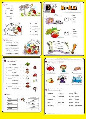 كتاب تعليم جرامر قواعد اللغة الانجليزية للاطفال ملخص القواعد الانجليزية للمرحلة الابتدائيةوالمبتدئين